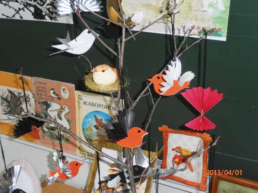Поделки птиц ко дню птиц
